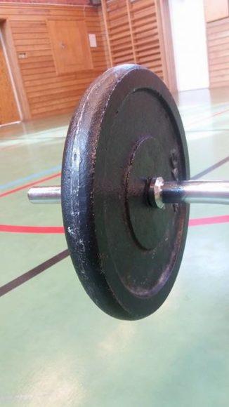 Fria vikter gym