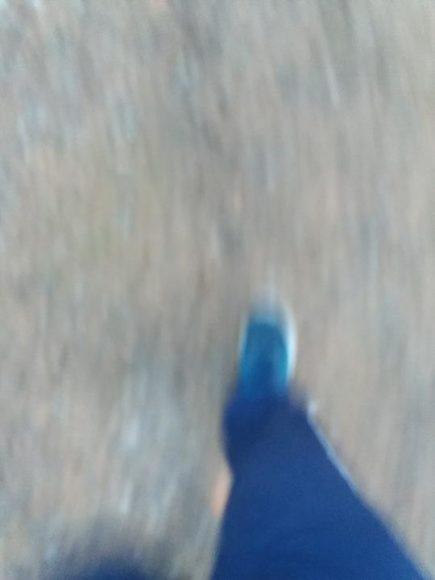 Snabb traning promenad