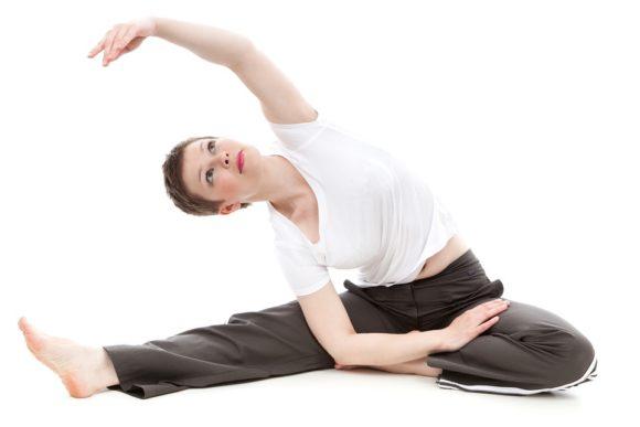 Traning magmuskler